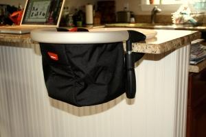 snug on the kitchen bar