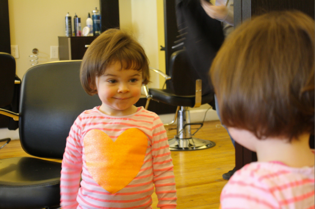 Ellie's First Haircut